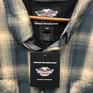 Harley-Davidson Shirts - Harley Davidson  Riding Shirt Size 3XL NWT!!